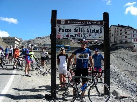 Stelvio Pass Peak